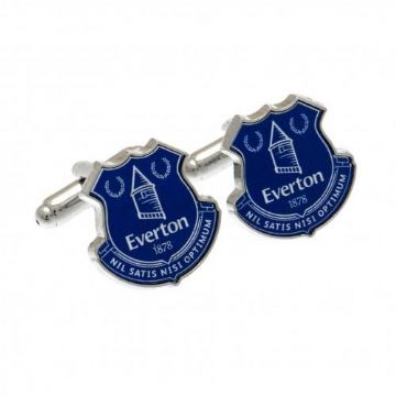 Everton Colour Club Crest Cufflinks
